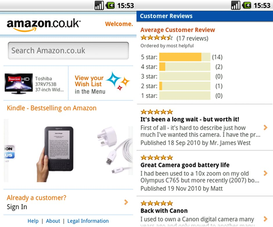 Amazon Android shopping app: Buy stuff on your Android ...