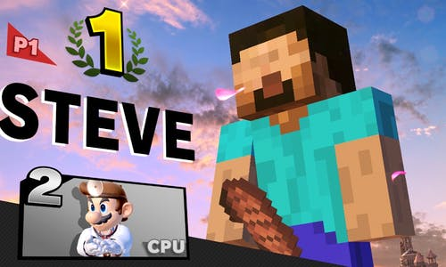 Super Smash Bros Steve
