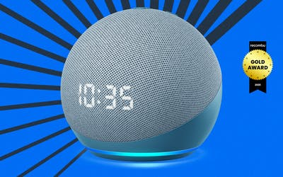 Amazon Echo Dot with Clock 4th Gen