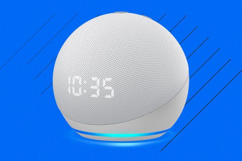 Amazon Echo Dot with Clock 4th Gen