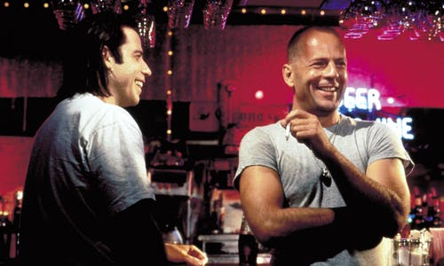 John Travolta Bruce Willis