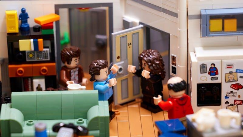 A glimpse into Seinfeld's apartment in LEGO form