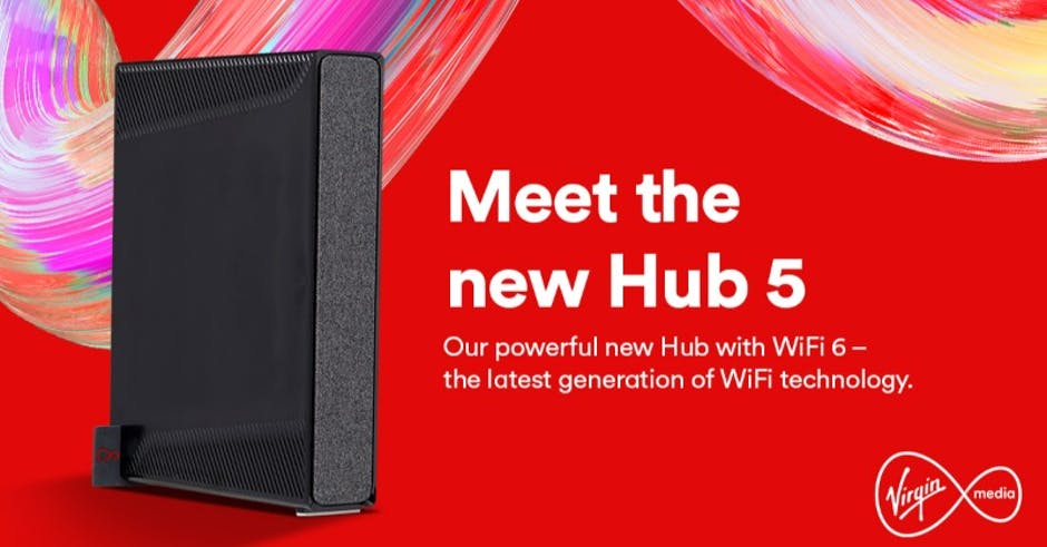 """Virgin Media launches new router """"at no extra cost"""", with WiFi 6 and 2.5 Gbps ethernet port"""
