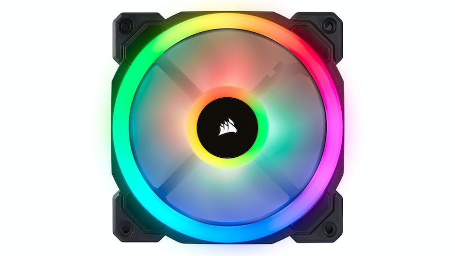 Corsair LL120 and LL140 RGB case fans