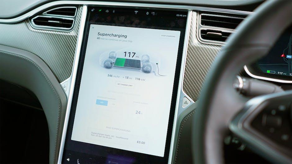 Tesla Model S Supercharging charge rate