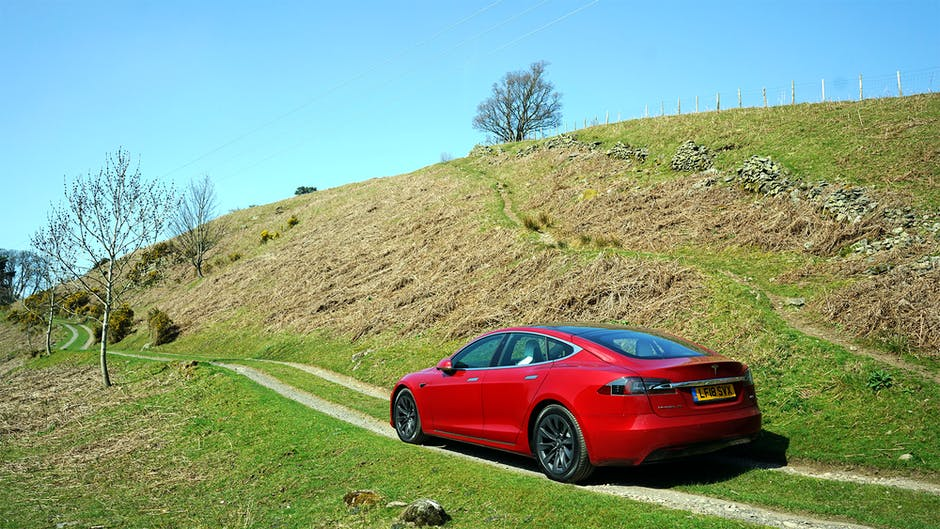 Tesla Model S 100D in the Lake District
