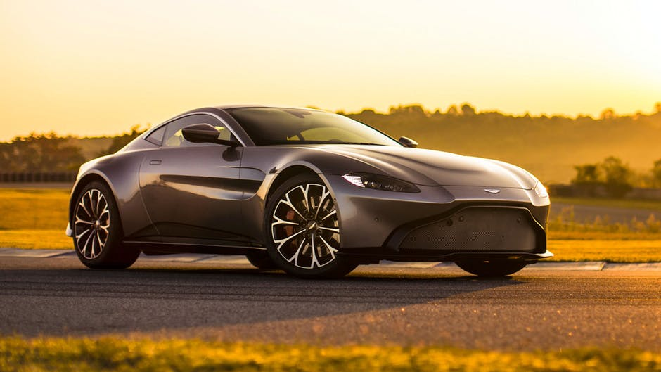 Aston Martin Vantage at the 2018 Geneva Motor Show