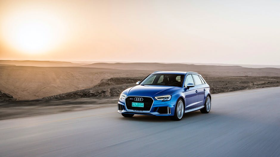 Audi RS 3 Sportback: Sunset bound