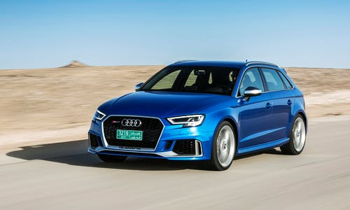 Audi RS 3 Sportback front view