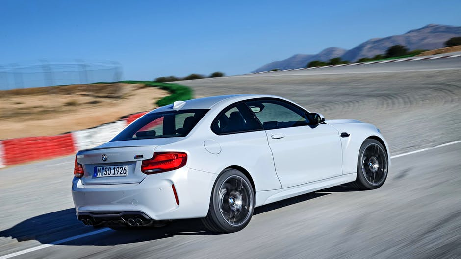 BMW M2 Competition rear end
