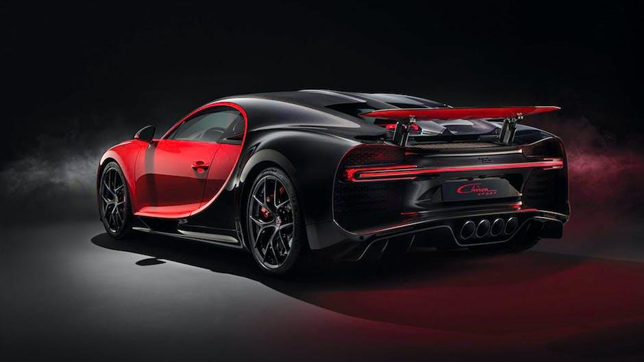 Bugatti Chiron Sport at the 2018 Geneva Motor Show (rear angle)