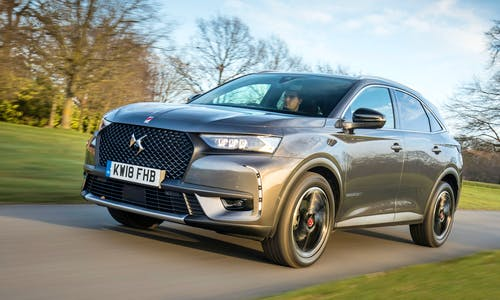 DS 7 Crossback from the front