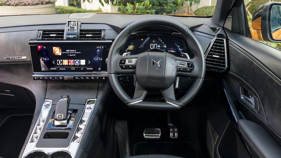 DS 7 Crossback Ultra Prestige interior