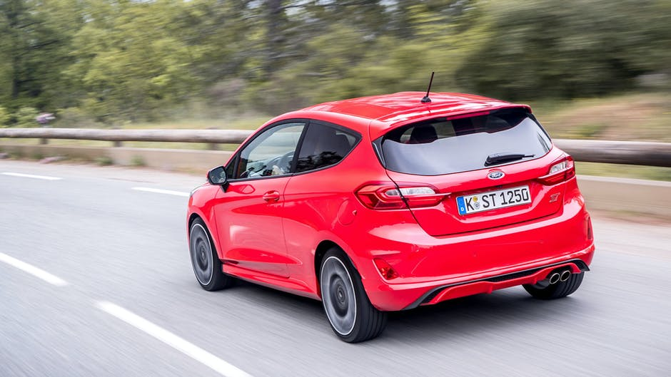 Ford Fiesta ST review (2018): Rear three quarters