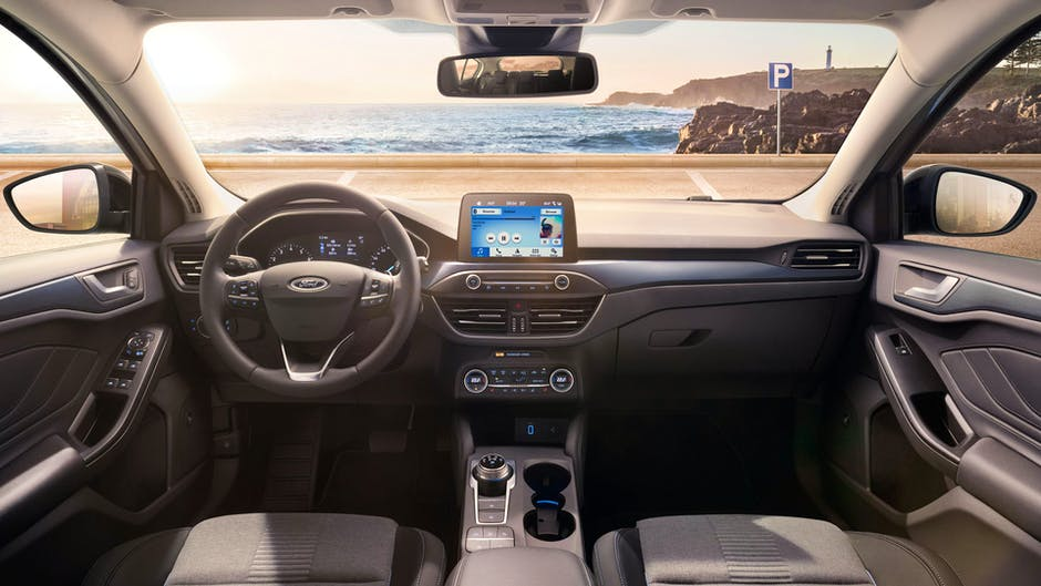2019 Ford Focus interior with SYNC 3