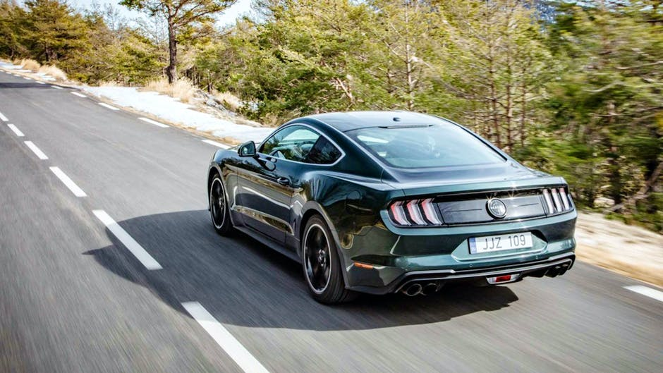 Ford Mustang Bullitt at the 2018 Geneva Motor Show
