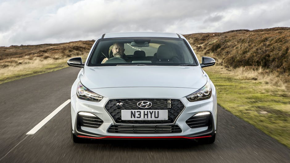 Hyundai i30 N Performance from the front