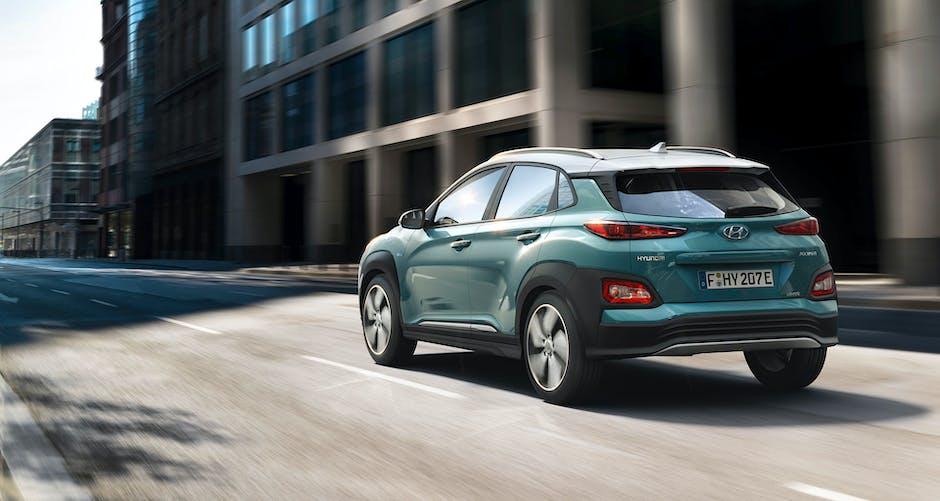 Hyundai Kona Electric back end