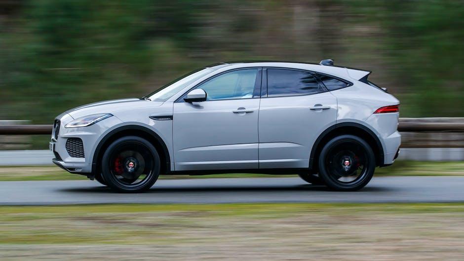 Jaguar E-Pace P300 R-Dynamic side profile