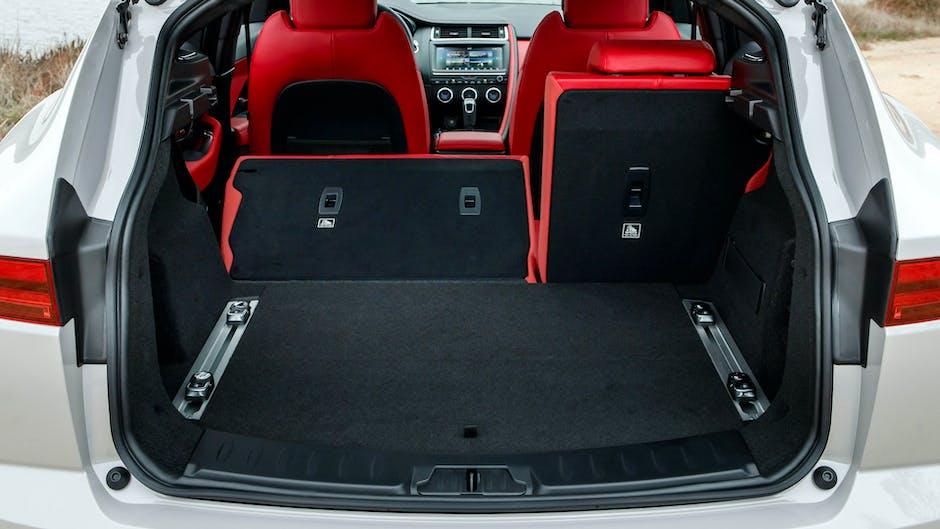 Jaguar E-Pace boot space