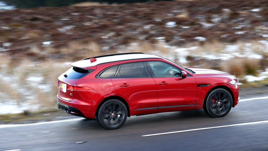 Jaguar F-Pace S drive in North Wales