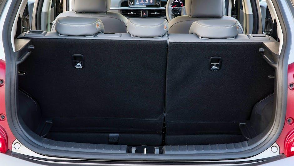 Kia Picanto X-Line boot space