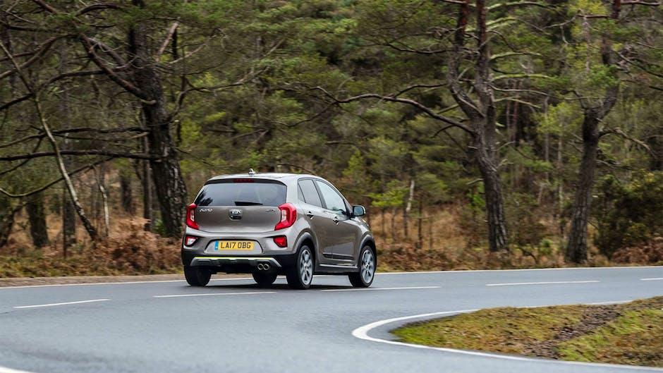 Kia Picanto X-Line on UK roads