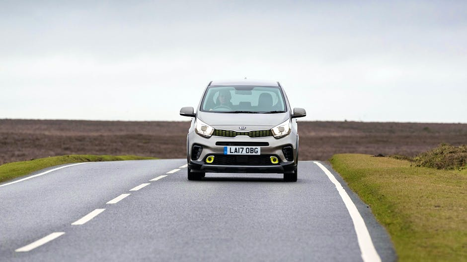 Kia Picanto X-Line from the front