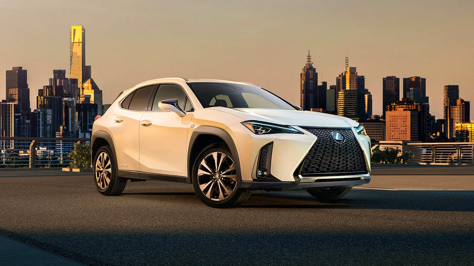 Lexus UX at the 2018 Geneva Motor Show