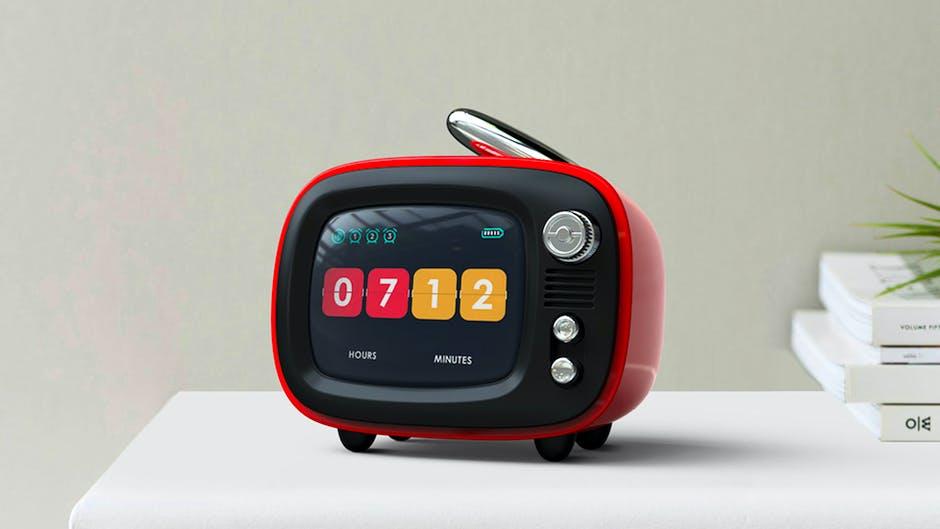 Lofree QTV Bluetooth Speaker with nostalgic design