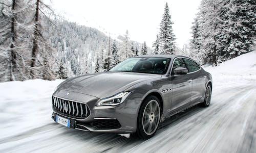 Maserati Quattroporte GTS 2018 in the Italian Alps