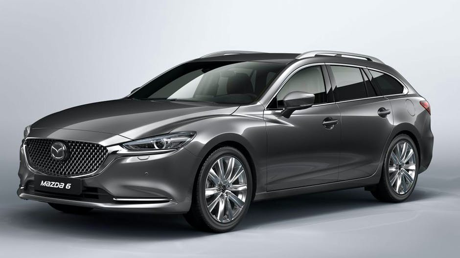 Mazda6 Tourer at the 2018 Geneva Motor Show