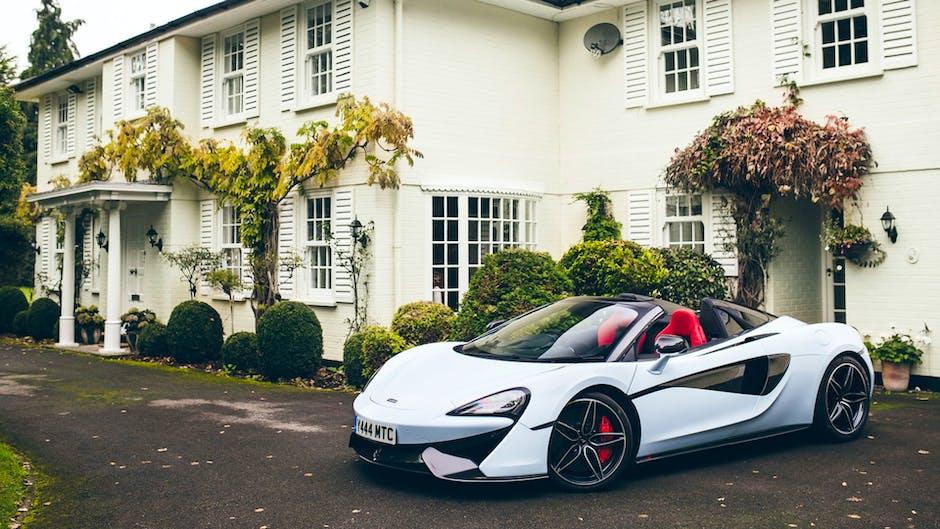 McLaren 570S at Muriwai House