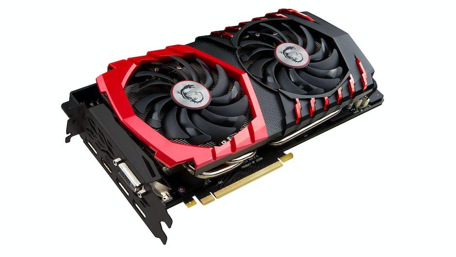 MSI GTX 1080 X 8g GPU