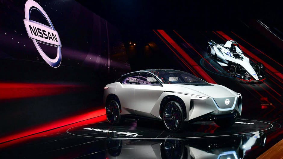 Nissan IMx Kuro concept at the 2018 Geneva Motor Show