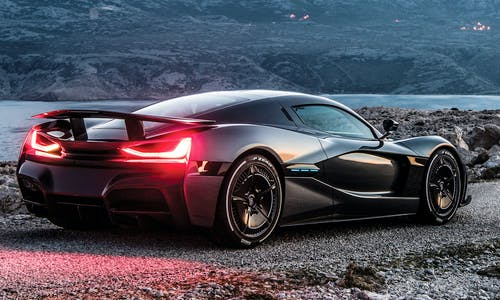 Rimac Concept Two 'C_Two' hypercar at the 2018 Geneva Motor Show
