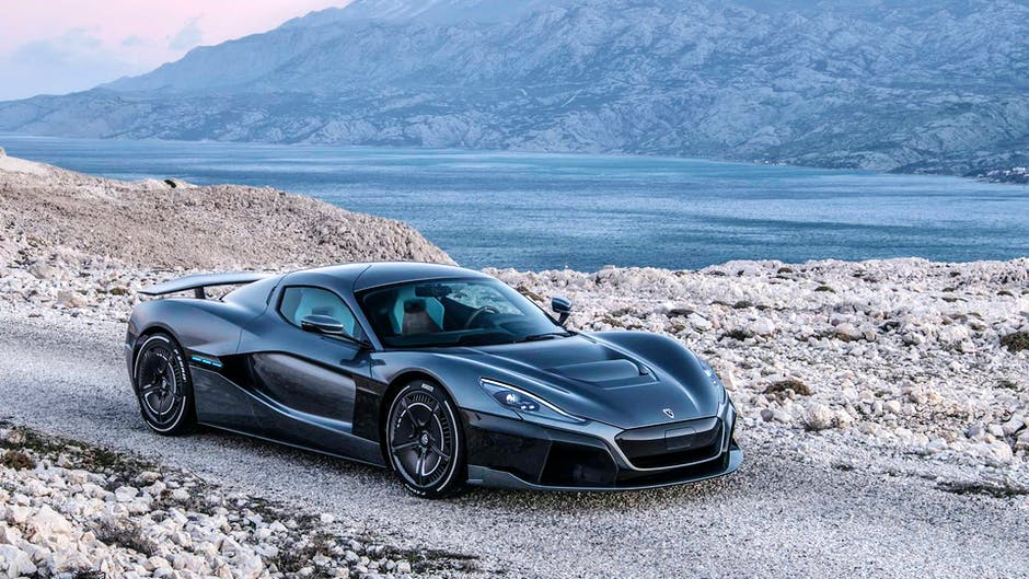 Rimac Concept Two C_Two at the 2018 Geneva Motor Show