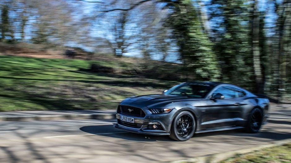 Steeda Q500 Enforcer Mustang in motion