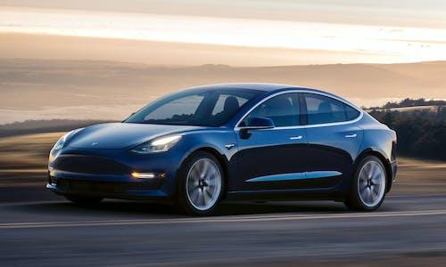 Tesla Model 3 tearing down