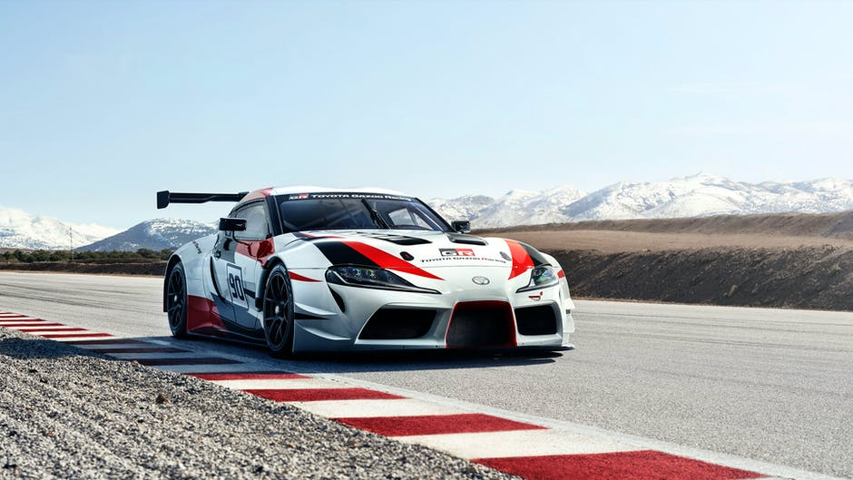 Toyota GR Supra Racing Concept at the 2018 Geneva Motor Show