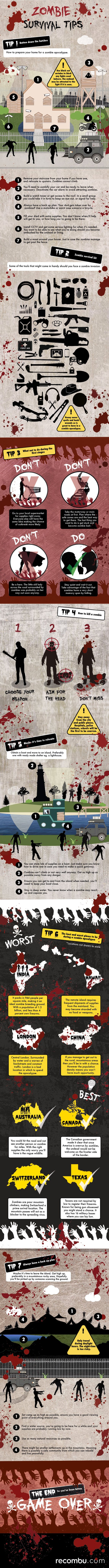 Zombie survival tips